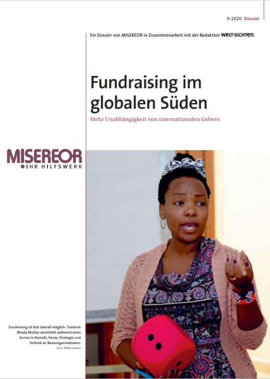 Cover Dossier Fundraising