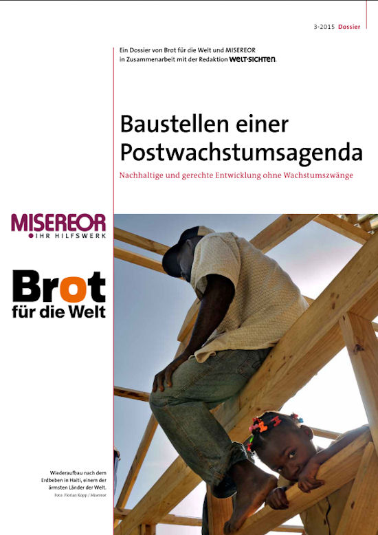 Cover Postwachstumsagenda 2015