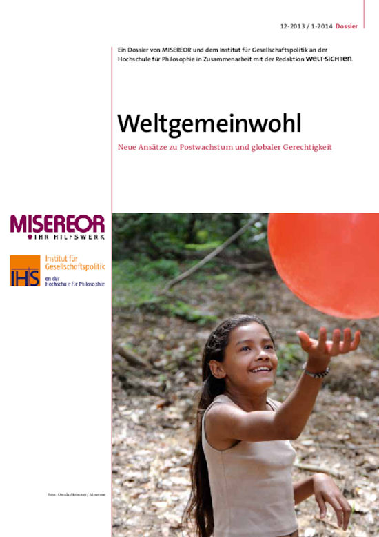Cover Weltgemeinwohl 2013/14