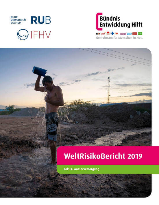 Cover Weltrisikobereicht 2019