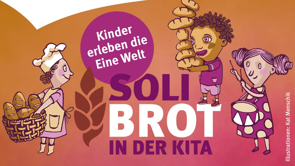 Plakat der Solibrot-Aktion