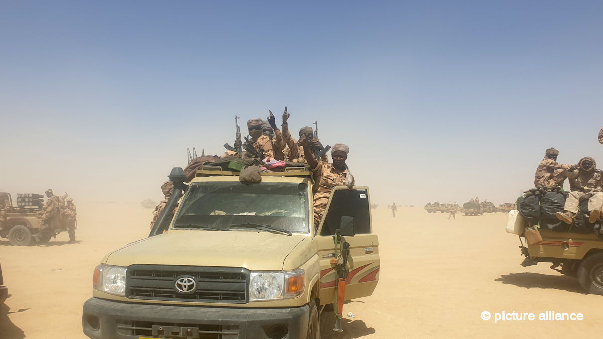 Over 300 rebels killed in northern Chad